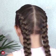 Girl Hairstyles 719801952928474634 - Braided ponytails never looked more cute!😍 Source by Girl Hair Dos, Girl Short Hair, Ponytail Hairstyles Tutorial, Braided Hairstyles, Updo Hairstyle, Beliage Hair, Cute Girls Hairstyles, School Hairstyles, Everyday Hairstyles