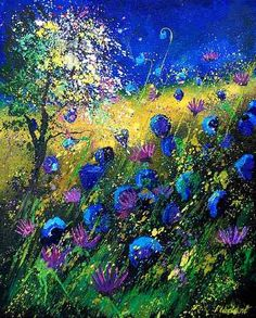 View Pol Ledent's Artwork on Saatchi Art. Find art for sale at great prices from artists including Paintings, Photography, Sculpture, and Prints by Top Emerging Artists like Pol Ledent. Photo D Art, Wow Art, Oeuvre D'art, Painting Inspiration, Design Inspiration, Painting & Drawing, Painting Trees, Amazing Art, Saatchi Art