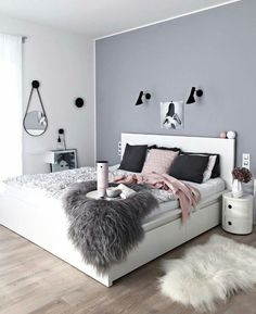 dream rooms for adults bedrooms * dream rooms . dream rooms for adults . dream rooms for women . dream rooms for couples . dream rooms for adults bedrooms . dream rooms for adults small spaces Home Bedroom, Bedroom Decor, Bedroom Themes, Teen Bedroom Colors, Bedroom Black, Bedroom Modern, Headboard Decor, Modern Closet, Modern Beds