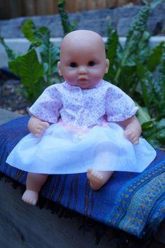 Skort - Skirt - Bodysuit Pattern to Fit Small Baby Dolls