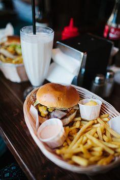 burger and milkshake photography - Google Search