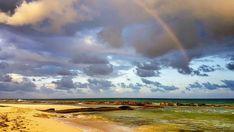 Mayan Riviera Mexico, Riviera Maya, Rainbow, Clouds, Sunset, Building, Amazing, Beach, Outdoor