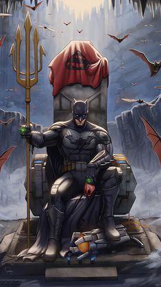 Batman Throne King Wallpapers   hdqwalls.com