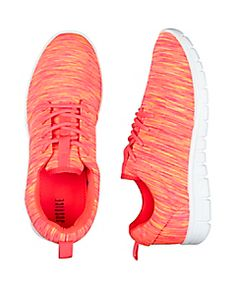 wholesale dealer b0fca 25235 Coral Space Dye Jogger Sneakers Justice Shoes, Justice Stuff, Girls  Sneakers, Girls Shoes