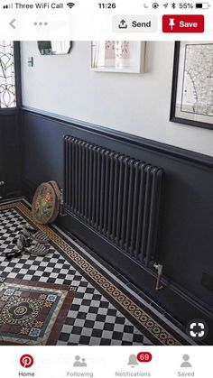 New Flooring Tile Patterns Entrance Ideas Hall Tiles, Tiled Hallway, Tile Stairs, Edwardian Hallway, Edwardian House, Victorian Hallway Tiles, Victorian House Interiors, Victorian Homes, Narrow Hallway Decorating