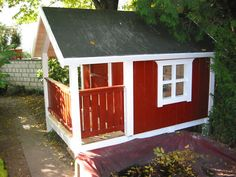 gartenhaus, spielhaus, kinderspielhaus, kindergartenhaus, diy, Moderne