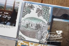 Yvonne is Stampin' & Scrapping: Stampin' Up!  Project Life card with stampset Tuscan Vineyard #stampinup
