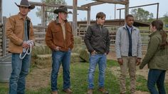 Heartland - season 10 - behind the scenes / bts - heartland blog : http://www.cbc.ca/heartland/m/blog/season-10-begins-sunday-on-cbc --- Mitch, Tim, Ty, Adam and Georgie