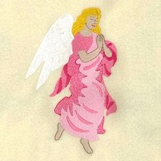 Heavenly Angel Praying - 5x7 | What's New | Machine Embroidery Designs | SWAKembroidery.com Starbird Stock Designs