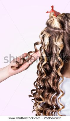 Permed Hair Stock Photos, Images, & Pictures | Shutterstock