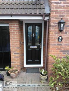 A selection of recently fitted doors, to real homes throughout the UK, Design price and order any door online available as supply only or fully fitted from ust £453 GBP inc Vat & Free Delivery #compositedoor #compositedoors #doorstopdoors
