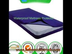 Cotton Terry Fabric 100 Waterproof Mattress Protector Air Permeable