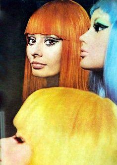 """kunning: """"Sophia Loren by Tazio Secchiaroli for Vogue, April 1970. """""""