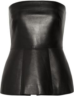 Valentino Leather Bustier