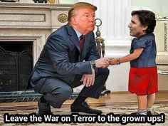 Trumping the little dictator once again