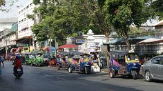 tuk-tuk in Bangkok !!