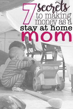 Check out these blogger secrets to making money as a stay at home mom. It is possible to make money while you stay home with the kids.