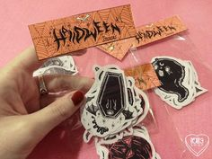Halloween Stickers by lOll3SHOP on Etsy