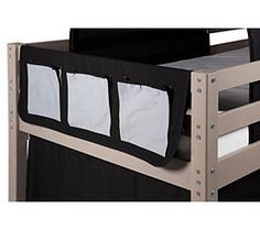 pochette rangement lit mezzanine. Black Bedroom Furniture Sets. Home Design Ideas