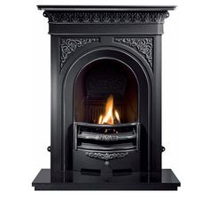 Gallery Nottage Cast Iron Combination Fireplace - Direct Fireplaces
