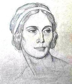 Бакст - портрет балерины Павловой 3 (600x700, 57Kb)