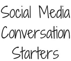 """Would you like more conversation on your social networks? Are you eager for likes, comments, and shares to increase your engagement? After seeing my clients struggle with """"what do I say"""" on their social media """"personal share"""" posts, I developed """"30 Social Media Conversation Starters."""" And it's yours FREE. Get you copy of my cheat sheet here and get that conversation started! Kristy Schnabel, Social Media Strategiest"""