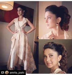 Jennifer Winget with ・・・ Beyhad Promotions Continue! 😊 Jacket By Accessories By Makeup By Mukesh Hair By Jadhav Sharda Styled By Jennifer Winget 💐💐💐💐 Designer Party Wear Dresses, Indian Designer Outfits, Couture Dresses, Fashion Dresses, Jennifer Winget Beyhadh, Simple Kurti Designs, Long Kurtis, Stylish Girl Pic, Indian Bridal