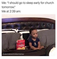 Every week we enjoy bringing you ladies a laugh with a roundup of the latest Christian memes circulating the internet. Here are 10 more that were too relatable to pass up! Really Funny Memes, Stupid Memes, Funny Relatable Memes, Stupid Funny, Funny Jokes, Funny Stuff, Church Memes, Church Humor, Catholic Memes