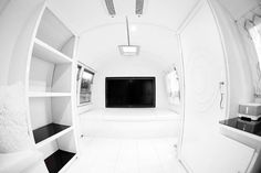 Mobile photography studio/office. So cool!