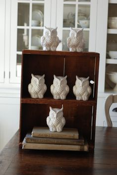 owlettes from vintage molds