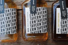 Tavern Vinegar Co. by Christine Wisnieski - we are digging the packaging on this. The hang tag is a simple, but nice addition.