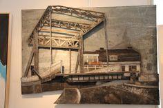 Bedummer klapbrug van zink kunstenaar Peter Wortel Painting, Art, Art Background, Painting Art, Kunst, Paintings, Performing Arts, Painted Canvas, Drawings