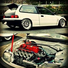 K series, so damn clean I want this too so many car goals! Might buy an EF for a first car save up and swap it.