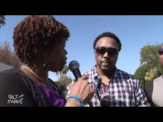 Roger is interviewed by the lovely Pat Prescott of 94.7 The Wave FM in Los Angeles at The 6th Annual Taste of Soul