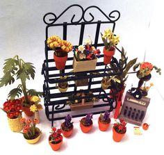 Quilled Flower Shop - Top View by SpiralArtisan.deviantart.com on @DeviantArt