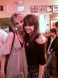 Taylor Swift and Selena Gomez.