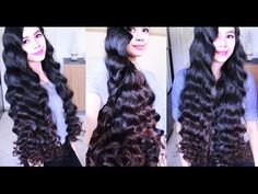 Heatless Overnight Summer Mermaid Waves- Beautyklove - YouTube