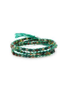 Jasper Wrap Bracelet by Chan Luu on Gilt.com