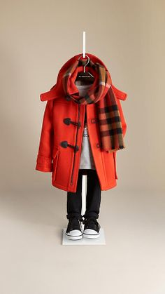 Wool Duffle Coat | Burberry