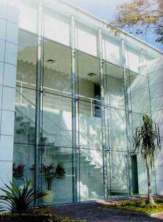 Fachada de Vidro - spider glass