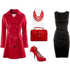 red would be cute for a Mary Kay event!!