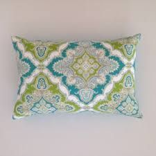 Image result for how to mix and match cushions teal and green