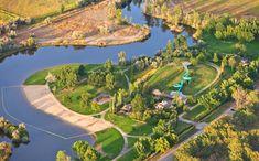 Eagle Island State Park Boise, Idaho.  Awesome park for kids!
