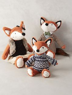 Cuddly Fox Stuffed Animal #anthrofave http://rstyle.me/n/tg4cabh9c7