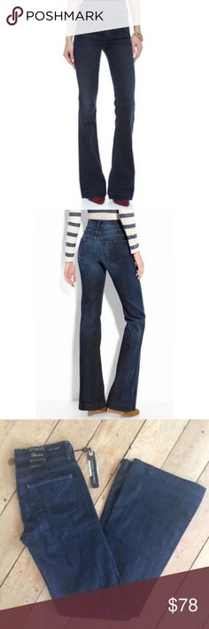 """Citizens Hutton #251 High Rise Wide Leg Jeans Citizens Hutton #251 High Rise Wide Leg Jeans, size 26. Dark Indigo color, lovely Jeans that I've never had the occasion to wear as I'm much too in love with my skinny Citizens. Jeans are 39.5"""" long, 30"""" inseam. Absolutely no imperfections. Citizens Of Humanity Jeans Boot Cut"""