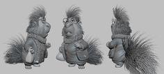 -- Share via Artstation iOS App, Artstation © 2017 Character Modeling, 3d Character, Character Design, 3d Modeling, 3d Cartoon, Cartoon Characters, Sculptures, Lion Sculpture, Digital Sculpting