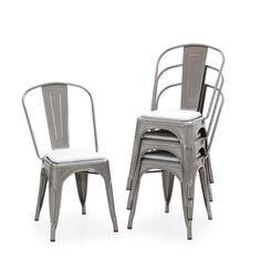 29 fantastiche immagini su Sedie in metallo vintage | Iron furniture ...