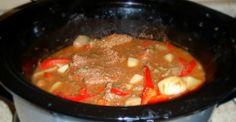 Round Steak Crock Pot Casserole: Keeping Families Satisfied For Decades - Page 2 of 2 - Tastee Recipe Rump Roast Recipes, Pork Recipes, Slow Cooker Recipes, Crockpot Recipes, Crock Pot Soup, Crock Pot Cooking, Steak Breakfast, Steak Casserole, Tastee Recipe