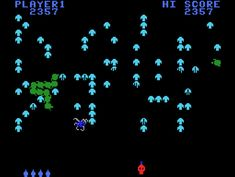 Atarisoft Centipede for Colecovision screenshot Classic Retro Gaming Video Game Review