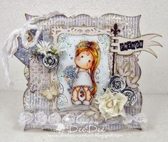 DeeDee´s Card Art - Tilda Binding Flowers